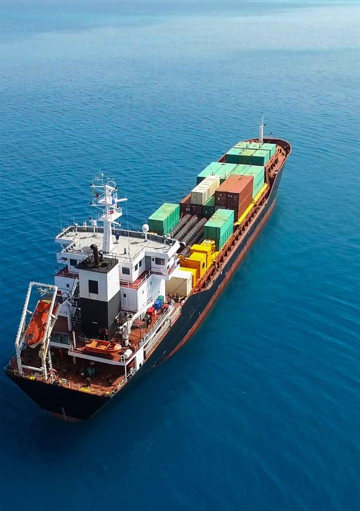 Transport, fret maritime à Genève et Zurich en Suisse